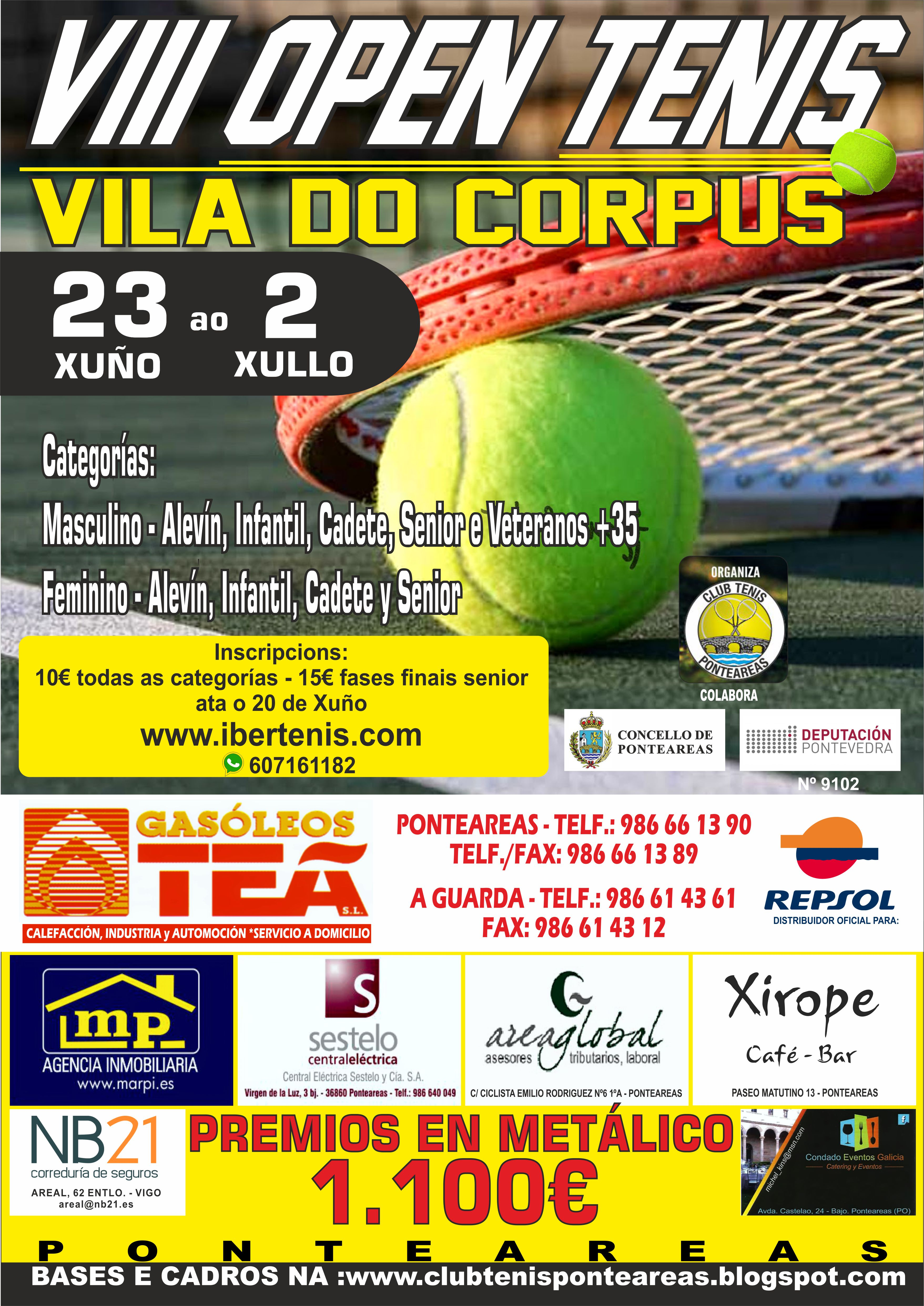 VIII Open Vila do Corpus