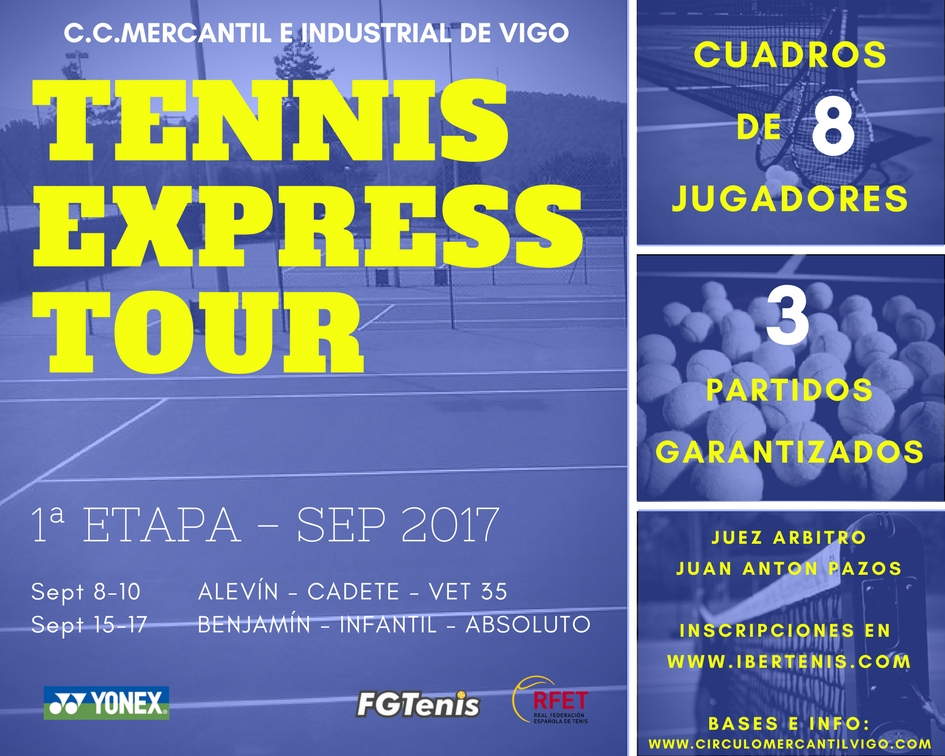 TENNIS EXPRESS TOUR 2 - Mercantil vigo