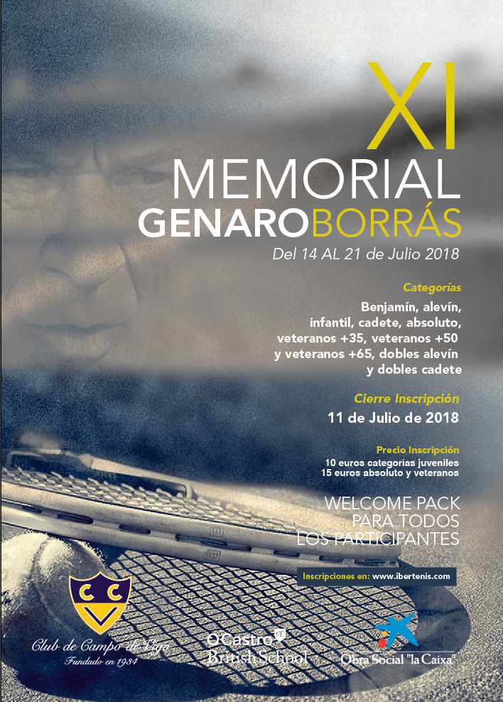 XI MEMORIAL GENARO BORRAS